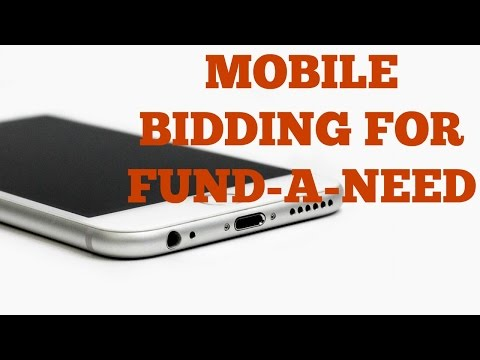 San Francisco Charity Auctioneer uses BidPal mobile bidding during Fund-A-Need
