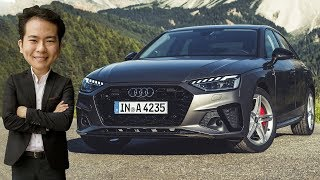 FIRST DRIVE: 2019 B9 Audi A4 facelift in Italy