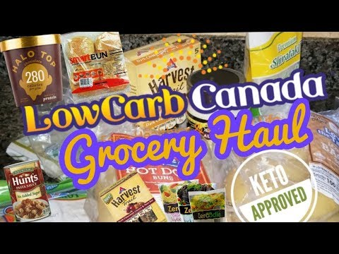 Grocery Haul | For KETO & LOW CARB foods |  LOW CARB CANADA