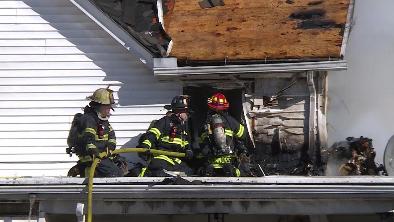 VIDEO NOW: Cumberland Fire