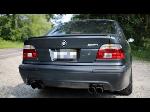 Living with an E39 BMW M5 everyday: The Insane Exhaust Note