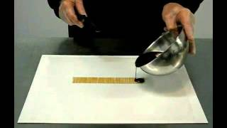 перенос рисунка на шоколад с помощью трансферной пленки