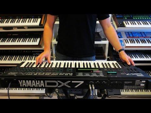 """YAMAHA DX7 II FM Synthesizer """"1987""""  RetroSound"""