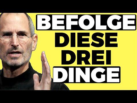 STEVE JOBS MOTIVATIONSREDE Deutsch (berühmteste Steve Jobs Rede)