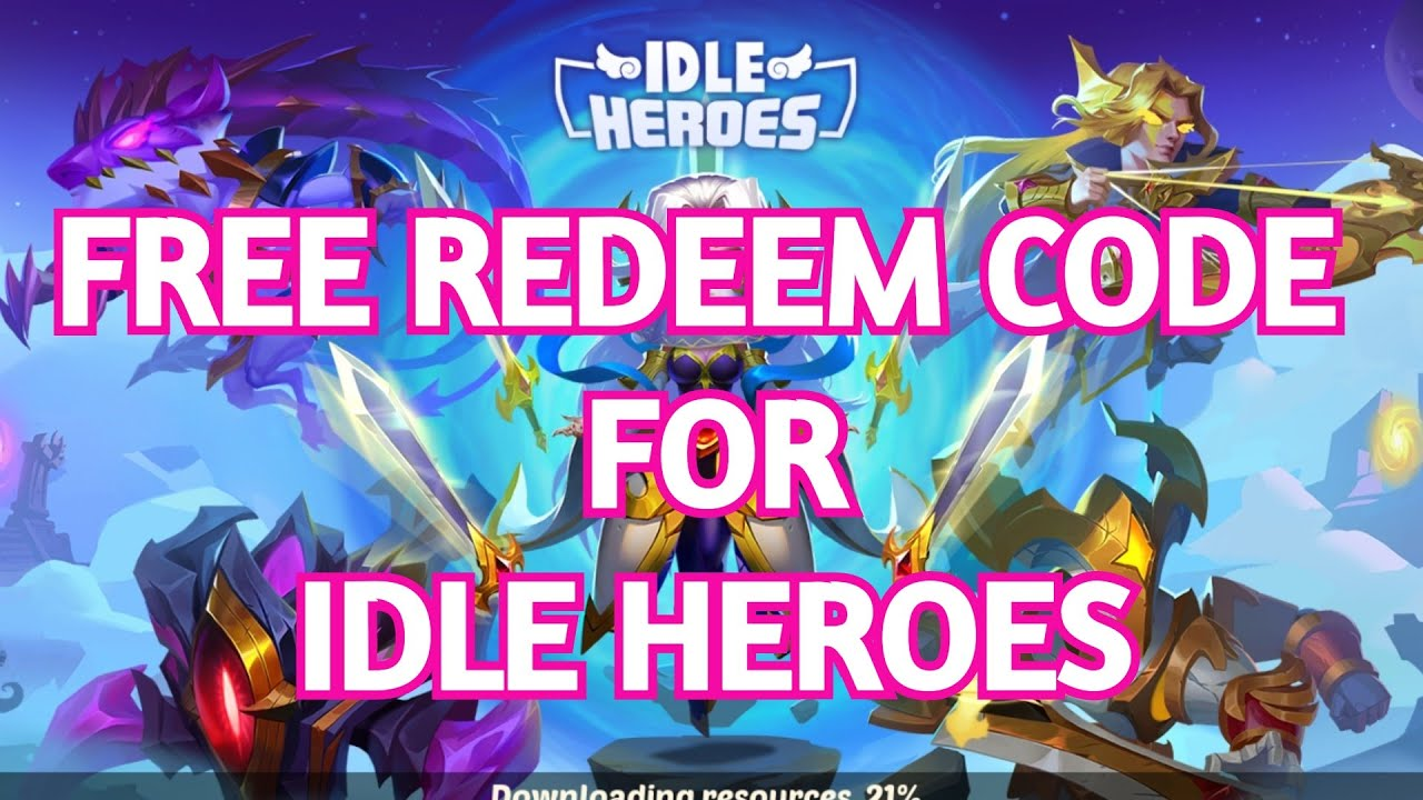 FREE REDEEM CODE FOR IDLE HEROES - OCTOBER 2020 - YouTube
