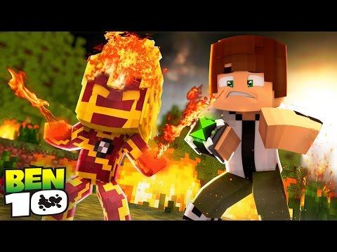 Minecraft: WHO'S YOUR FAMILY? - O BEBÊ VIROU O CHAMAS! ( BEN 10 )