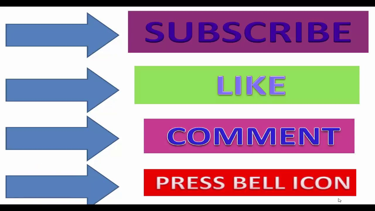 Free Youtube Subscribe Button Png Download Youtube
