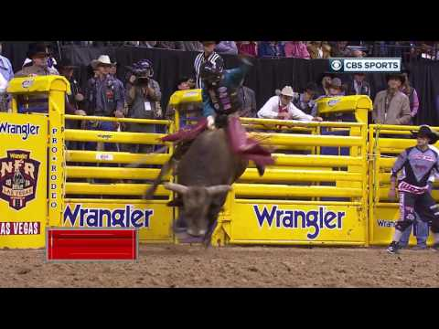 2016 Wrangler NFR Weather Guard ® Save Of The Night Professional Bullfighting