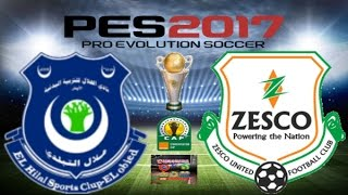 PS4 PES 2017 Gameplay Hilal El Obeid vs ZESCO United HD 2017 Video
