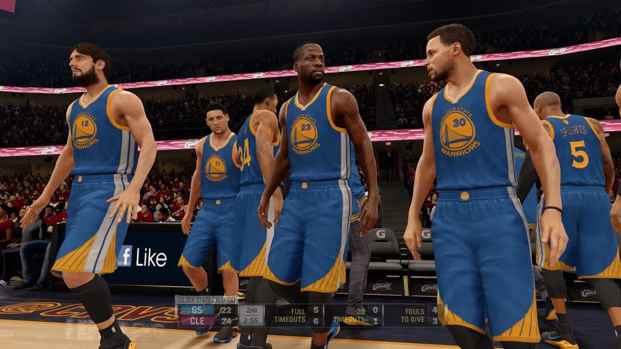 NBA LIVE 16 - 2015 NBA Finals: Golden State Warriors v ...