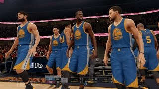 NBA LIVE 16 - 2015 NBA Finals: Golden State Warriors v Cleveland Cavaliers Gameplay [1080p 60FPS HD]