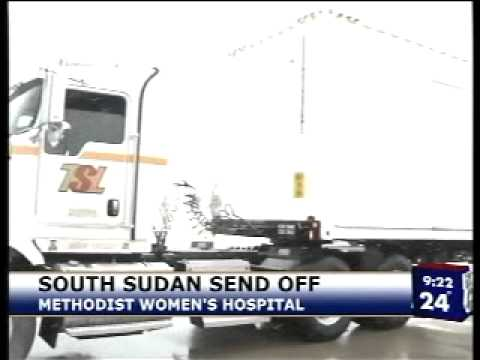 Medical Care on Its Way to South Sudan