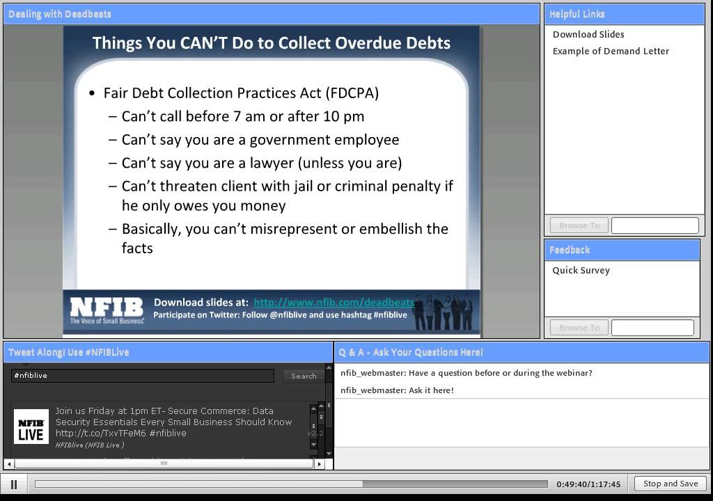 how to collect money owed for work done