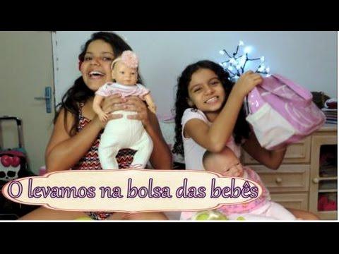 O que levamos nas bolsas das bebês - Isabela Vaidosa