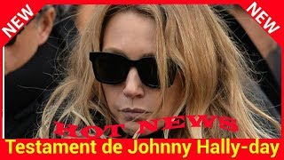 Testament de Johnny Hally­day : la contre attaque de Laura Smet
