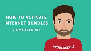 How to activate Virgin Mobile Internet bundles via My Account