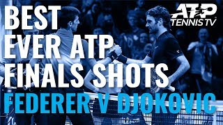 Roger Federer v Novak Djokovic: Best ATP Finals Shots & Rallies