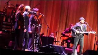 "PORTLAND ""Joan of Arc"" tour debut, Leonard Cohen with Hattie Webb, Nov 11.12 Rose Garden Arena"
