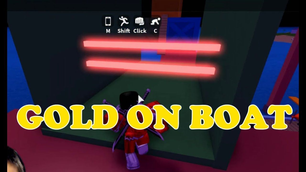 Super Villain Hot Rod Robbing The Boat For Gold In Roblox Mad City