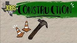 Jobs Y'all. Explore Construction!