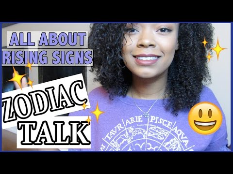 ALL ABOUT YOUR RISING SIGN!! - Zodiac Talk!