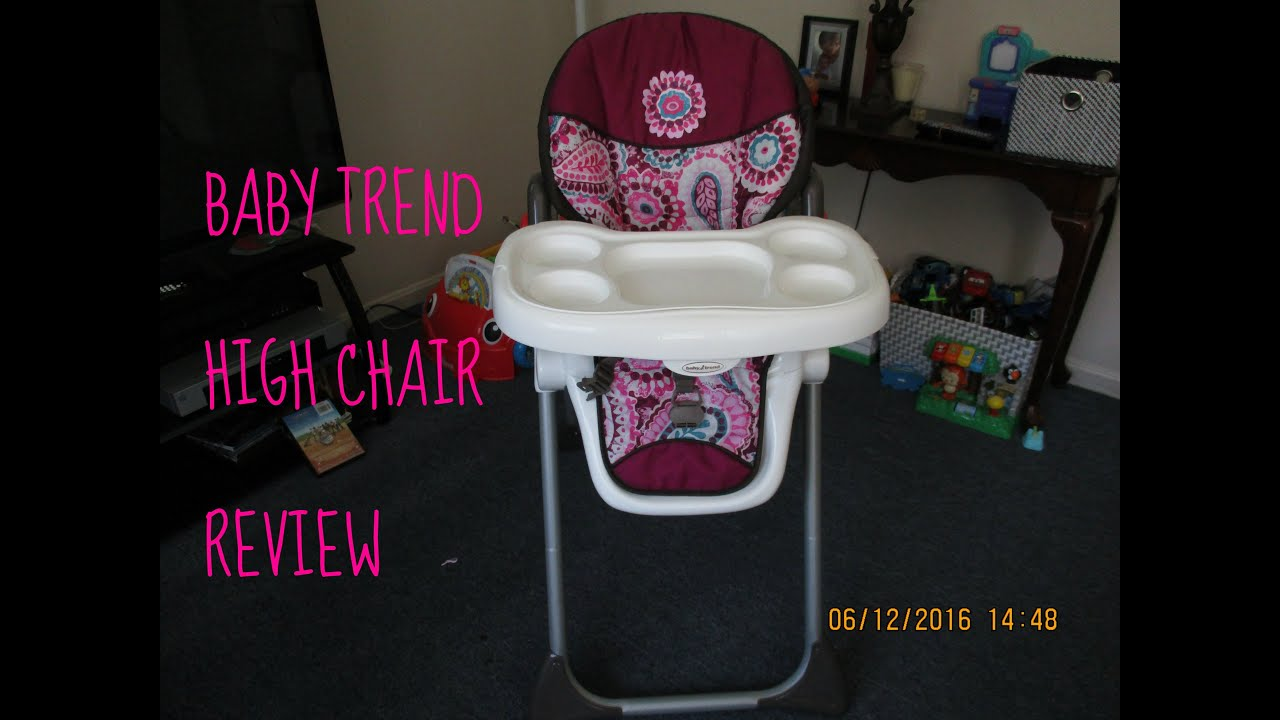 Baby Trend Sit Right High Chair Review Youtube