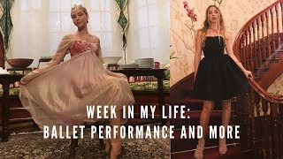 week in the life of a teen ballerina  | performances, classes, and carnivals