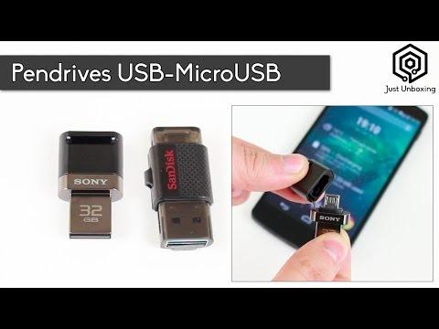Pendrives USB-MicroUSB | Almacenamiento extra para tu teléfono