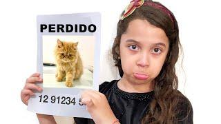 SARAH perdeu o SEU GATO | Sarah Lost our cat