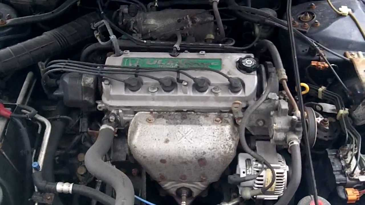 honda accord engine knocking 2.3 liter - youtube