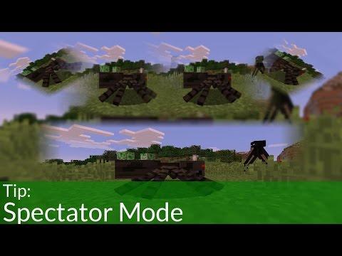 Tip: Spectator Mode in Minecraft 1.8