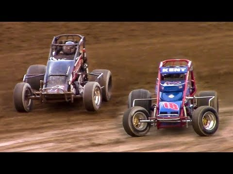 RUSH Sprint Car Heat Two | Old Bradford Speedway | 5-20-18