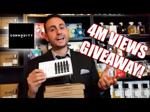 Commodity Goods Giveaway! 4 Million Views!