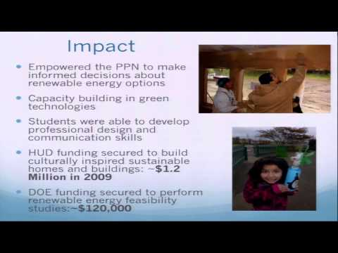 Sustainable Tribal Buildings and Renewable Energy Systems