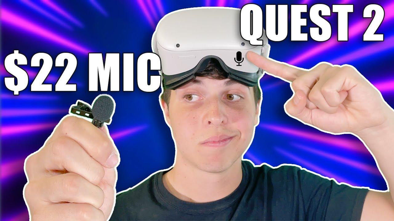 Quest 2 Microphone vs $22 Amazon Microphone [Test and Comparison]
