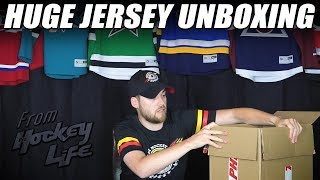 Huge Jersey Unboxing From Pro Hockey Life!