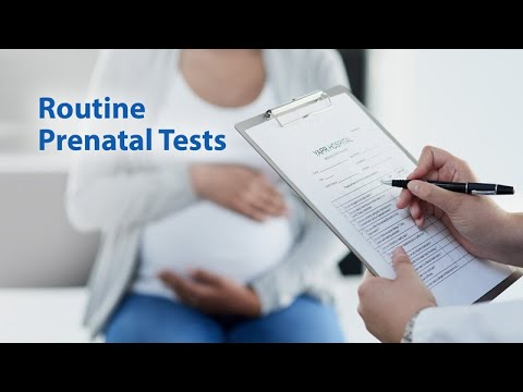 Prenatal testing Exams to organize for On Your Third Trimester