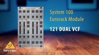 Behringer System 100 – 121 Dual Filter VCF Eurorack Module