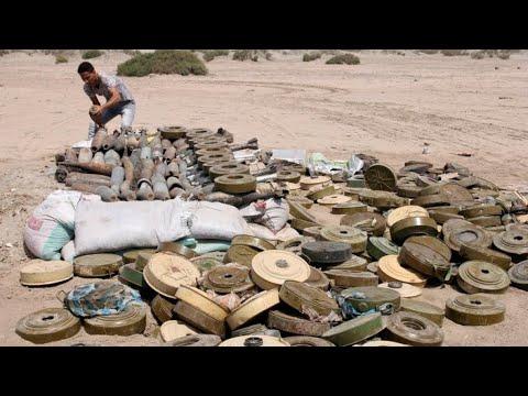 الألغام...خطر مميت في حرب اليمن