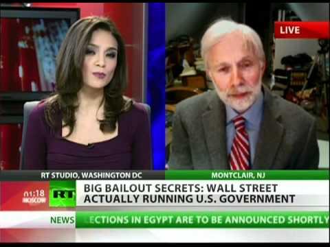 Washington and Wall Street running secret government?