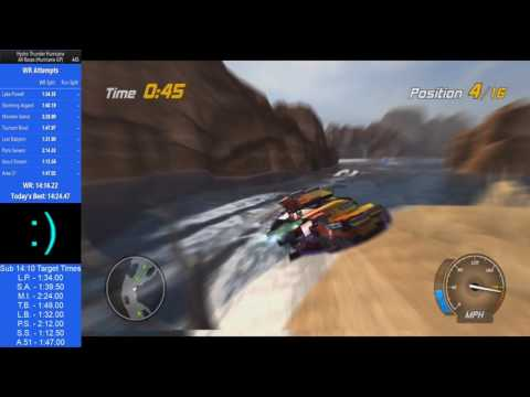 (old) Lake Powell - 1:32.88 - Hydro Thunder Hurricane