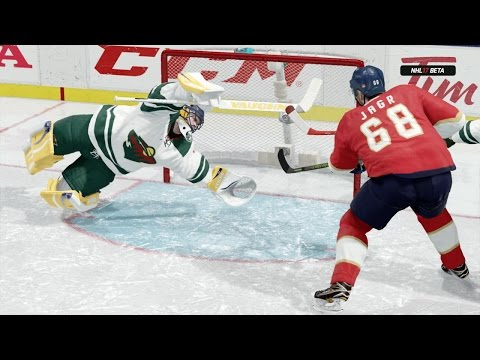 NHL 17 Beta (Xbox One) Gameplay - Hockey Ultimate Team Full Game (Panthers New Uniforms)