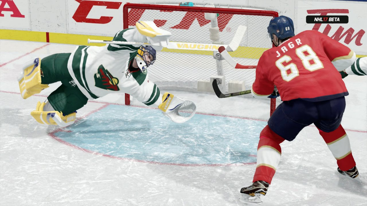 Nhl 17 Beta Xbox One Gameplay Hockey Ultimate Team Full Game