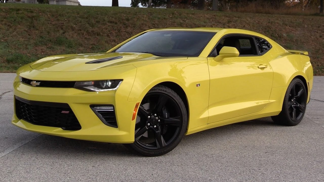 2016 Chevrolet Camaro Ss 6 Spd Start Up Road Test And In