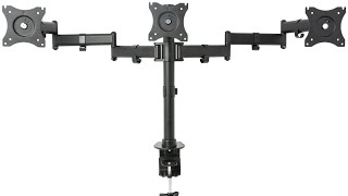 VIVO STAND-V003M Triple Monitor Adjustable Mount / Articulating Stand for 3 LCD Screens upto 27