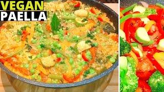 Perfect Vegetarian Paella | Vegan Paella Recipe | How To Cook Vegan Spanish Paella