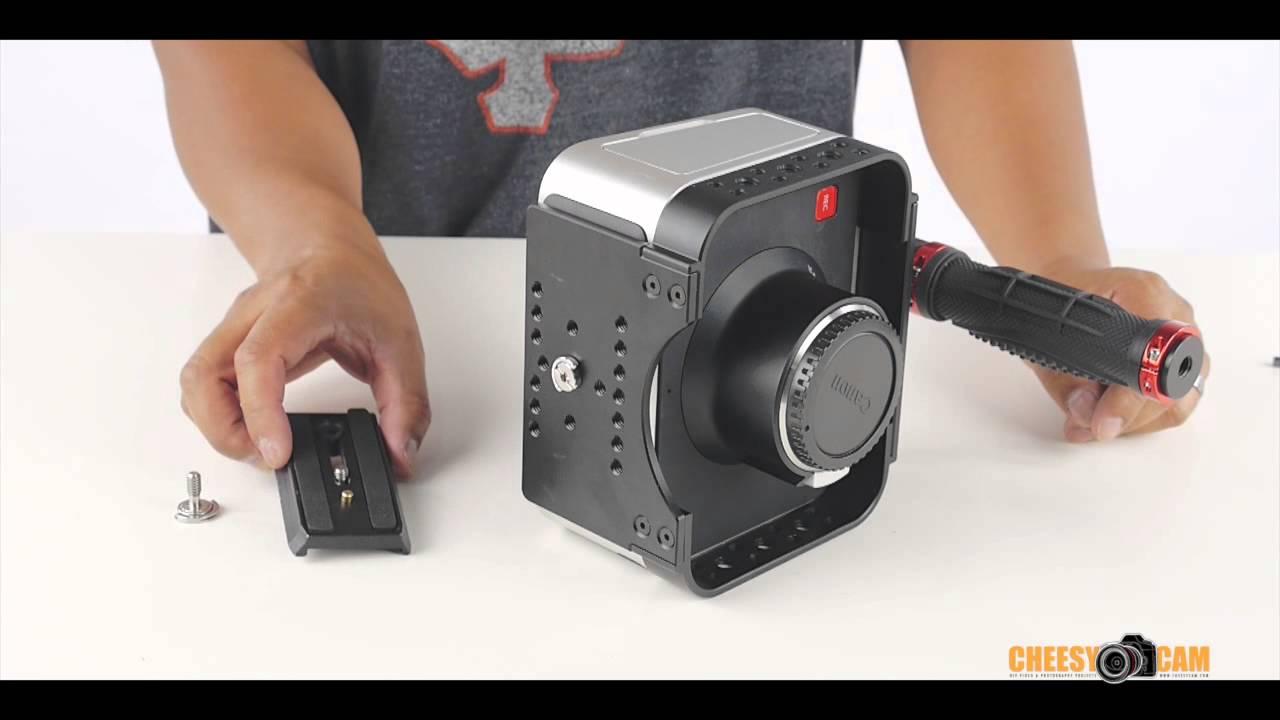 Blackmagic Design Cinema Camera Or Production 4k Video Cage Youtube