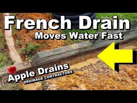 FRENCH DRAIN DIY