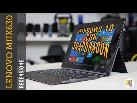 Il PC con SNAPDRAGON Recensione LENOVO MIIX630