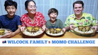WILCOCK FAMILY MOMO CHALLENGE WITH THE RECIPE II Aussie-NepaliFamily